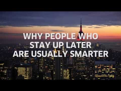 Download Youtube: Why People Who Stay Up Later Are Usually Smarter [Body & Mind]