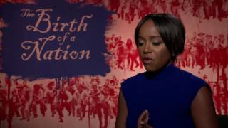 Aja Naomi King interview The Birth of a Nation