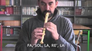Hosanna in excelsis - Flauta dulce