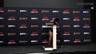 UFC on ESPN+ 39 official weigh-in