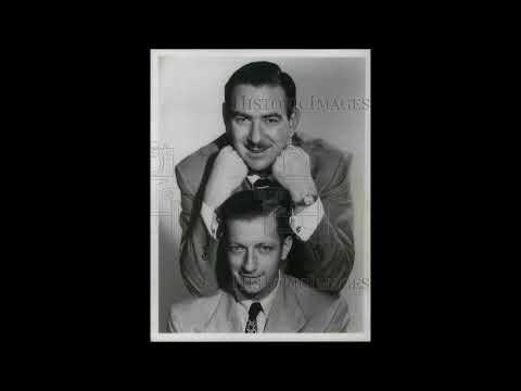 Bob and Ray Wally Ballou at White Dove Turkey Farm 1956 Mutual Radio