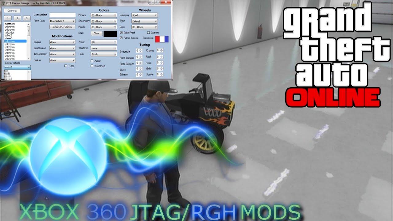 Gta v online garage editor download youtube for Garajes gta v online