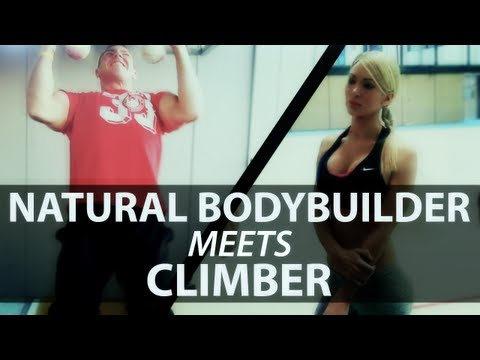 Natural Bodybuilder Meets Climber eng sub