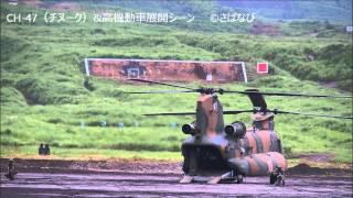 2014年8月19日に陸上自衛隊東富士演習場(静岡県御殿場市)で行われた「...