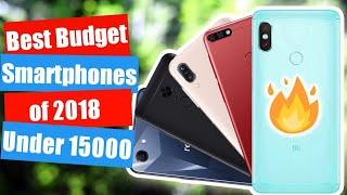DUAL CAMERA BEST BUDGET SMARTPHONES IN 15000 Rs. (May 2018)
