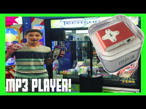 ★Winning a MP3 Player From The Claw Machine!! ~ ClawTuber