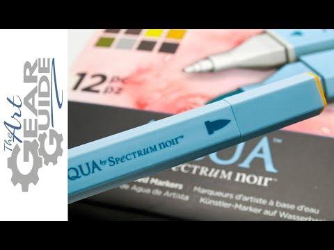 Spectrum Noir Aqua Markers Review