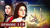 Dil-e-Barbad -  Episode 118 Full HD - ARY Zindagi Drama