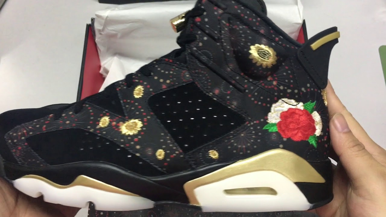 e28d0975a162d1 ... 開箱:Unwrapping NIKE AIR JORDAN 6 RETRO CNY BLACK METALLIC GOLD MULTI  COLOR ...