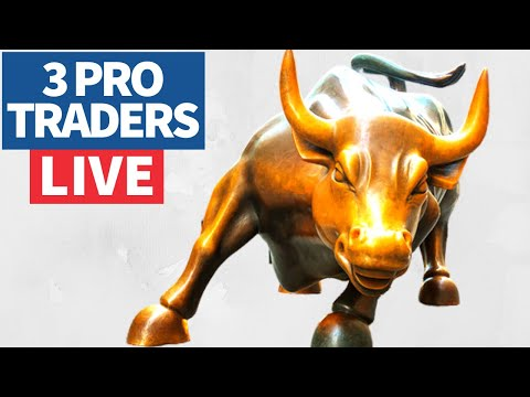 Join 3 Pro Traders Make (& Lose) Money, Day Trading💰 - March 22, 2021