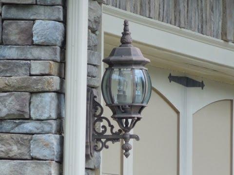 Design of Outdoor Sconces - Wall Sconces, Home Building. Custom Homes. Home Plans.