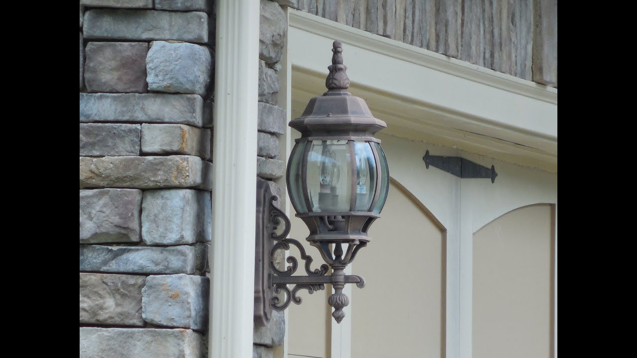 Wall Sconces B And Q : Design of Outdoor Sconces - Wall Sconces, Home Building. Custom Homes. Home Plans. - YouTube