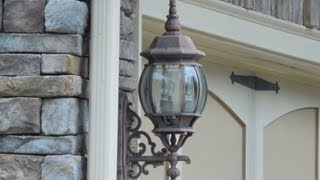 Design Of Outdoor Sconces - Wall Sconces, Home Building. Custom Homes. Home Plans.