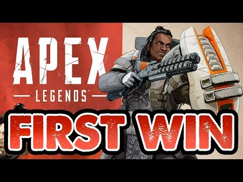 FIRST WIN! // Apex Legends Champion // Resawn Games NEW BR // Apex Legends Gameplay
