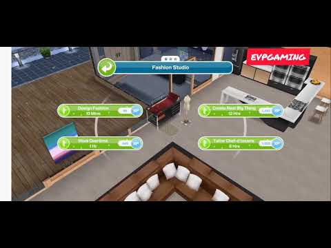 Have 1 Sim Designing Clothing Weekly Task Sims Freeplay Mobile Youtube
