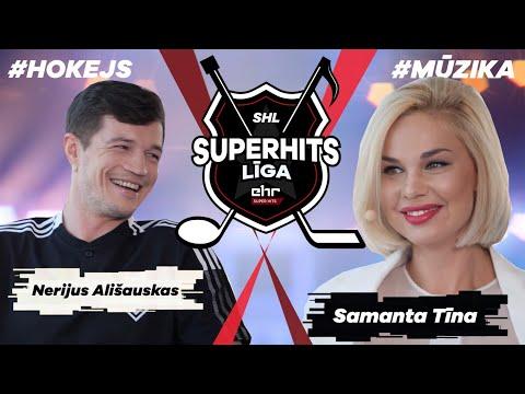 SUPERHITS LĪGA #6 // @Samanta Tina  x Nerijus Alisauskas