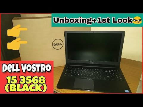 Dell Vostro 15 3568 - Unboxing & Quick Review | r programming laptop