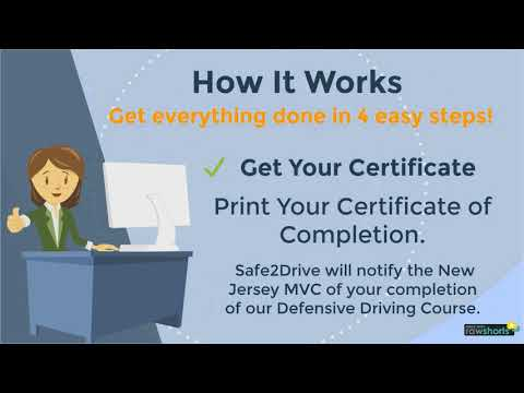 New Jersey Defensive Driving Online Course