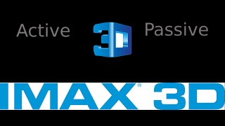 Active 3D vs Passive 3D, IMAX 3D