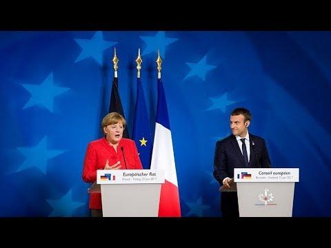 Два голоса одной Европы. О чем спорят Эммануэль Макрон и Ангела Меркель