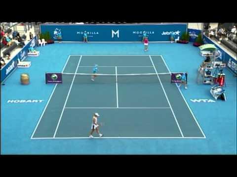 Yanina Wickmayer vs Marina Erakovic Moorilla Hobart International 2012.mp4