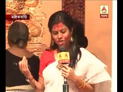 Actress Koyel Mallick on the auspicious occasion of Bijaya Dashami and Sindoor Khela