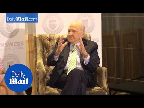 Business mogul Jack Welch on what makes a good manager - Daily Mail
