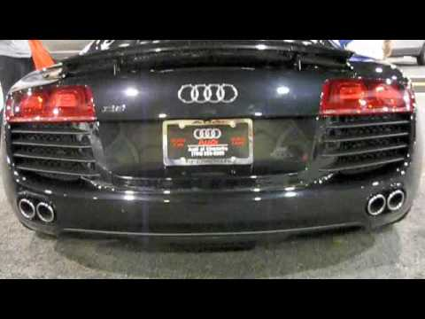 2009 Audi R8 4.2 FSI Quattro Detailed Exterior and Interior Overview