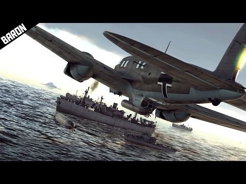 War Thunder Planes vs Ships!  Best thing in War Thunder Navy