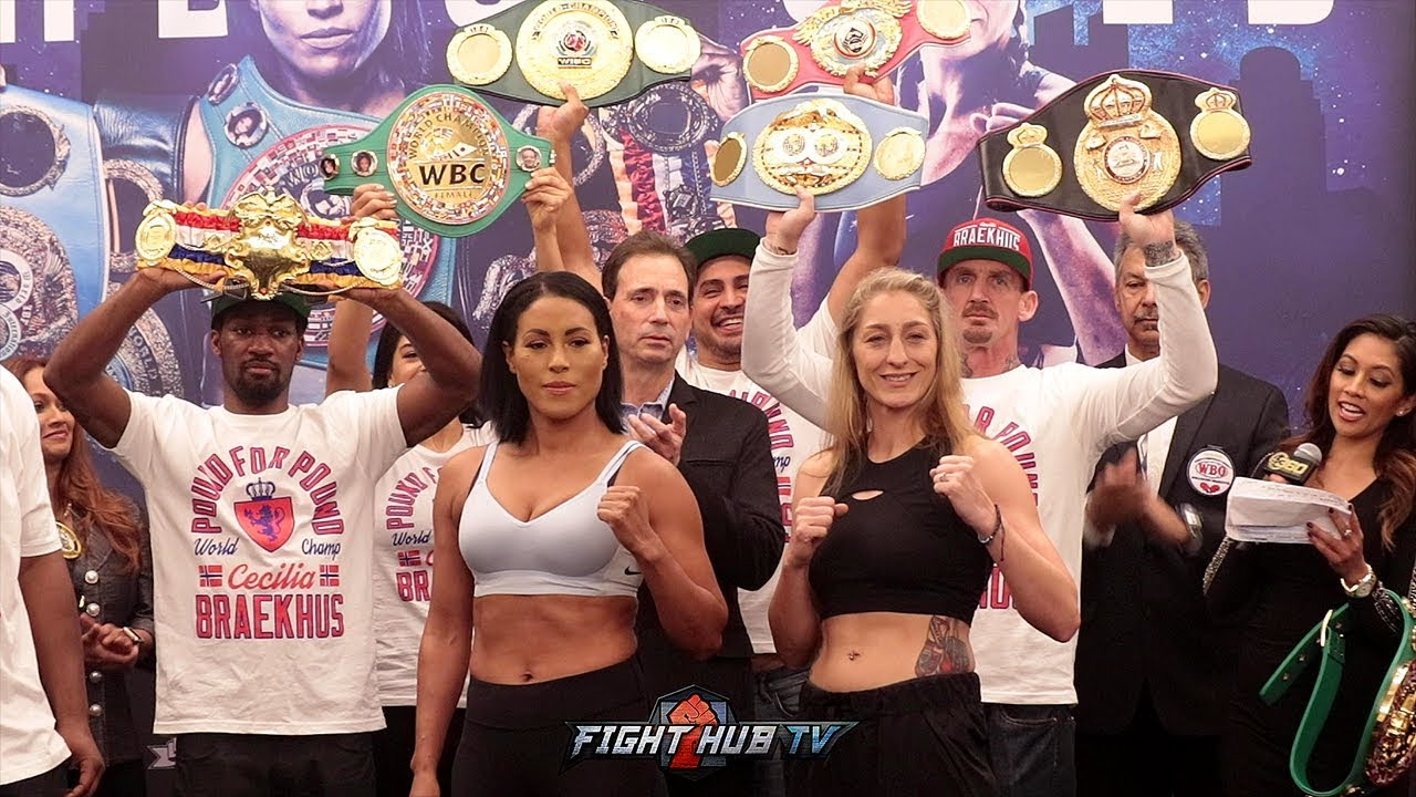 cecilia-braekhus-aleksandra-lopes-face-off-after-weigh-in-in-final-hbo-boxing-show