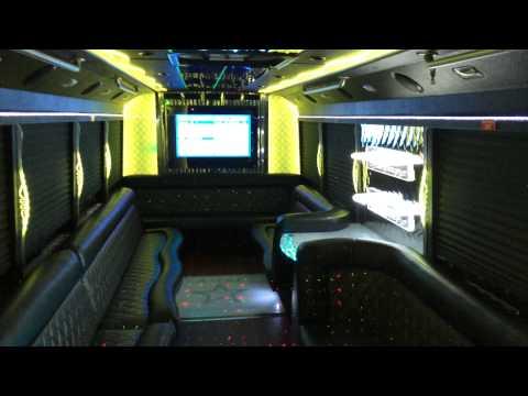 A-List Limousine Livonia Michigan - TITAN PARTY BUS