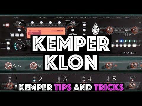 Kemper Klon Stomp - Kemper Tips And Tricks