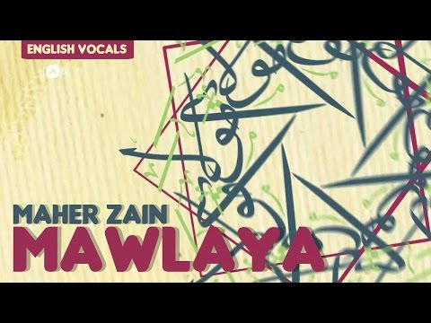 Maher Zain - Mawlaya (English Version) | Vocals Only (No Music)