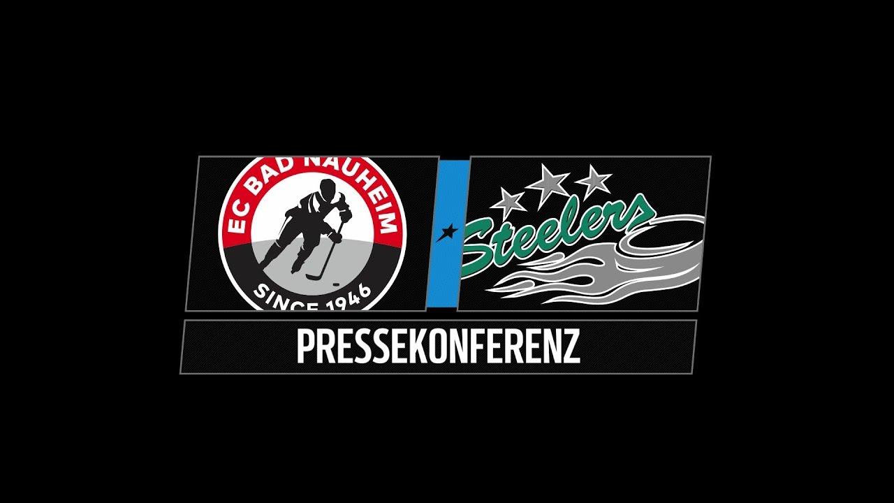Bad Bietigheim pressekonferenz 3 spieltag ec bad nauheim vs bietigheim steelers
