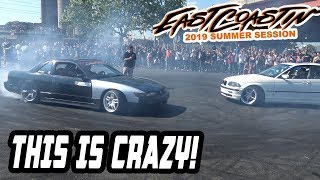 Getting RECKLESS and having a BLAST! - EASTCOASTIN' SUMMER SESSION