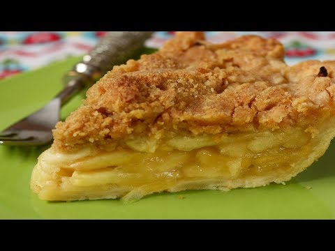 Apple Crumble Pie Recipe Demonstration - Joyofbaking.com