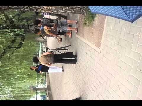 Beijing park karaoke