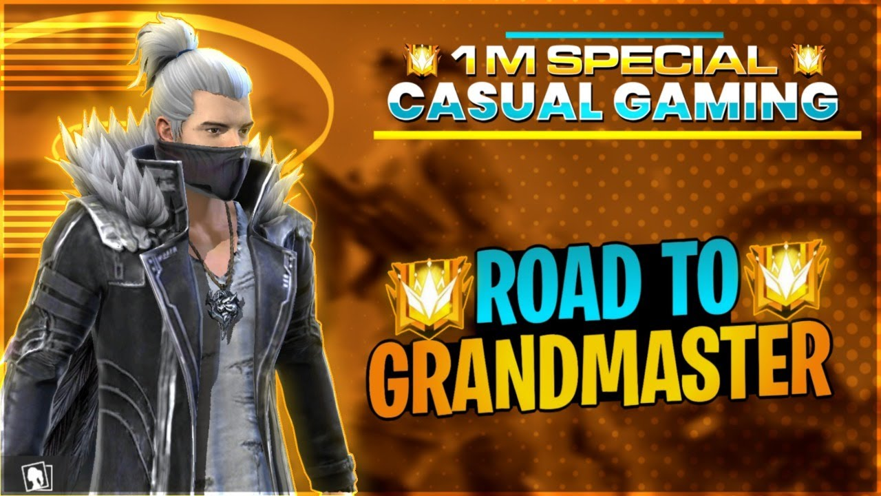 FREE FIRE ROAD TO GRANDMASTER - Challenge Accepted | GARENA FREE FIRE | #TotalGaming #Freefire
