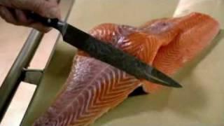 Gordon Ramsay - How to skin and bone a salmon