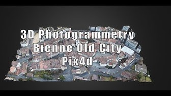 3D Photogrammetry Vieille Ville Old Town Altstadt Biel Bienne Switzerland