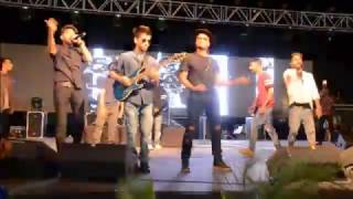 Raftaar performs in Bhopal