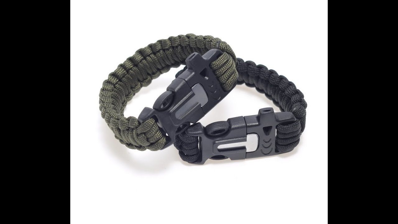 Fire Starter On The Wrist A Must Have Survival Bracelet