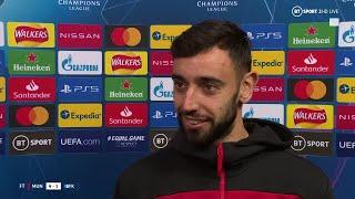 Bruno Fernandes explains why he let Marcus Rashford take a penalty vs Istanbul Basaksehir