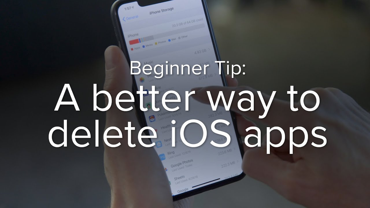 A better way to delete apps in iOS 12