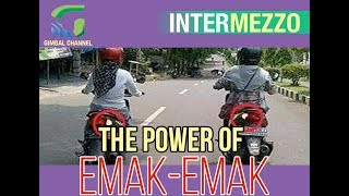 THE POWER OF EMAK EMAK, Kompilasi Video Lucu Emak-Emak Bawa Motor #viral #lucu