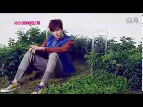 Lee Min Ho 이민호 - Cosmopolitan China Photoshoot BTS.