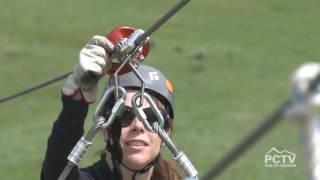 Zipline Utah longest zipline in the world over water