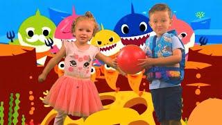 Baby Shark   Baby Shark Dance Challenge   Baby Shark Song for Kids   Ryan and Sofia Dance.