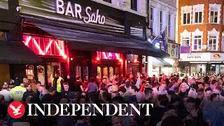 Packed Soho streets spark concerns as social distancing rules flouted