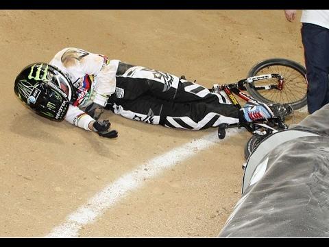 BMX RACE CRASH
